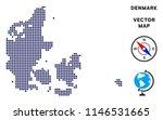 pixelated denmark map. abstract ... | Shutterstock .eps vector #1146531665