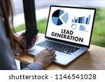 lead generation  business... | Shutterstock . vector #1146541028