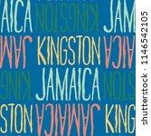 kingston  jamaica seamless...   Shutterstock . vector #1146542105