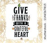 thanksgiving day. logo  text...   Shutterstock .eps vector #1146567815