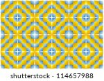 expansion  motion illusion . op ... | Shutterstock .eps vector #114657988