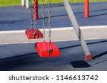 Empty Chain Swings In Children...