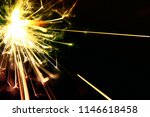 sparklers effect as background  ...   Shutterstock . vector #1146618458
