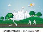 environment concept artwork... | Shutterstock .eps vector #1146632735