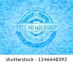 free membership light blue... | Shutterstock .eps vector #1146648392