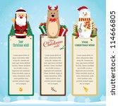 christmas card   Shutterstock .eps vector #114666805