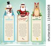 christmas card   Shutterstock .eps vector #114666808