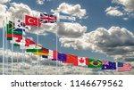 g20 flag summit silk waving... | Shutterstock . vector #1146679562
