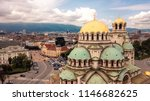 panoramic view of the st.... | Shutterstock . vector #1146682625