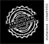 strength and conditioning... | Shutterstock .eps vector #1146691922