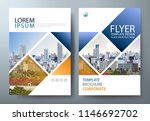 annual report brochure flyer... | Shutterstock .eps vector #1146692702