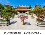 long son pagoda or chua long... | Shutterstock . vector #1146709652