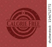 calorie free red icon or emblem | Shutterstock .eps vector #1146712772