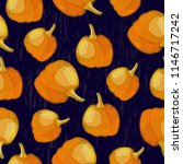 vector seamless pattern with... | Shutterstock .eps vector #1146717242