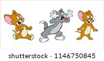 tom and jerry vector for design
