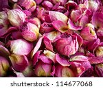 Dried Roses Background