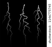 set of different thunders on... | Shutterstock . vector #1146775745