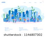 concept sale and rent of... | Shutterstock .eps vector #1146807302