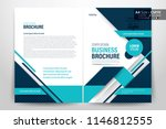 front and back cover of a... | Shutterstock .eps vector #1146812555