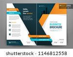 front and back cover of a... | Shutterstock .eps vector #1146812558