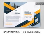 front and back cover of a... | Shutterstock .eps vector #1146812582