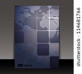 flyer or cover design | Shutterstock .eps vector #114681766