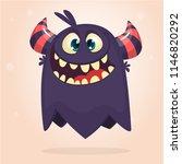 angry cartoon monster....   Shutterstock .eps vector #1146820292