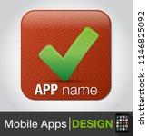 check. check mark  checklist ... | Shutterstock .eps vector #1146825092