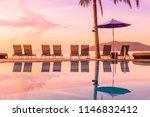 beautiful outdoor view with...   Shutterstock . vector #1146832412