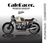 vintage motorcycle poster   Shutterstock .eps vector #1146843455