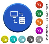 syncronize data with database... | Shutterstock .eps vector #1146847595