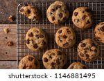 Chocolate Chip Cookies On A...