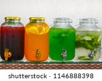 cooling drinks tarhun mors... | Shutterstock . vector #1146888398
