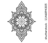 circular pattern in form of... | Shutterstock .eps vector #1146894305