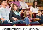 number of cheerful positive... | Shutterstock . vector #1146895352