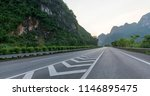 sunset guilin highway | Shutterstock . vector #1146895475