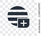 worldwide vector icon isolated... | Shutterstock .eps vector #1146916592