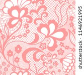 gentle lace seamless pattern...   Shutterstock .eps vector #1146921995