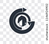 crm vector icon isolated on...   Shutterstock .eps vector #1146924902
