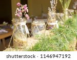 decorative field flowers in... | Shutterstock . vector #1146947192