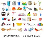 big collection of different... | Shutterstock . vector #1146951128