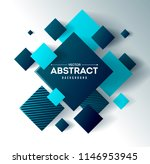 abstract background with 3d... | Shutterstock .eps vector #1146953945