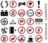 set of 25 icons such as weapons ...