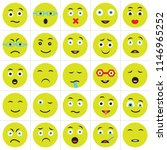 set of 25 icons such as happy ...