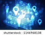 2d illustration business... | Shutterstock . vector #1146968138