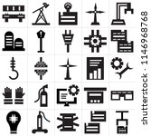 set of 25 icons such as package ...