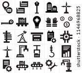 set of 25 icons such as robotic ...