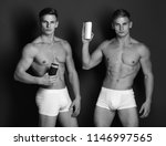 sports  bodybuilding and... | Shutterstock . vector #1146997565