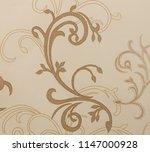 royal floral texture | Shutterstock . vector #1147000928