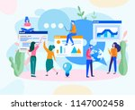 vector illustration  flat style ... | Shutterstock .eps vector #1147002458